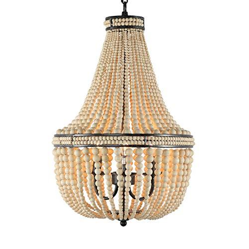 Best wooden beaded chandeliers
