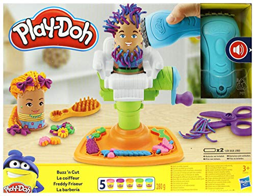 Hasbro Play-Doh E2930EU6 - Freddy Friseur Knete, für fantasievolles und kreatives Spielen