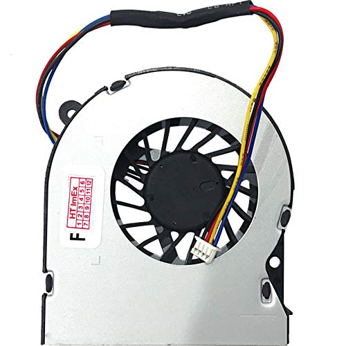 Ventilador de refrigeración compatible con MSI Intel NUC Kit NUC6i7KYK, modelo: KSB0605HB-BNM, KSB0605HBW5Y, P/N: 1323-00U9000, P/N: 50HF