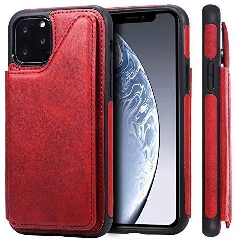 GHC Cases & Covers para iPhone 12/12 Pro/12 Pro Max 12 MINI, funda de piel 3D de lujo Etui con soporte para tarjetas y fundas para iPhone 11 Pro/11 Pro Max