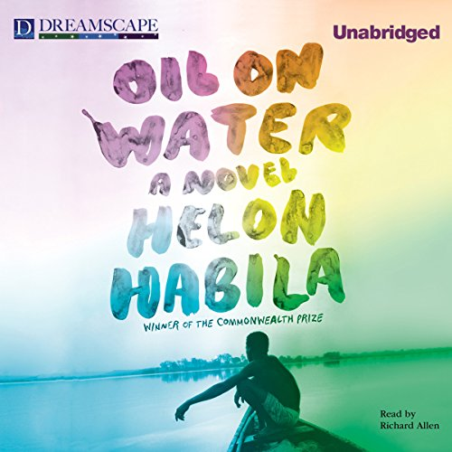 Oil on Water audiobook cover art