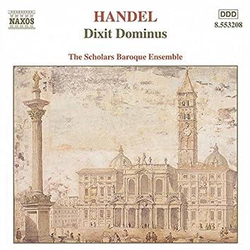 Handel: Dixit Dominus / Salve Regina / Nisi Dominus