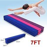 2,2M Gymnastik Zusammenfaltbar Schwebebalken Strapazierfähige 3 Farben