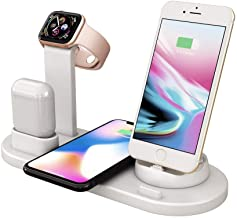 Charging Dock Stations | 4-in-1 Charger Stand Wireless Station Multiple Devices photo