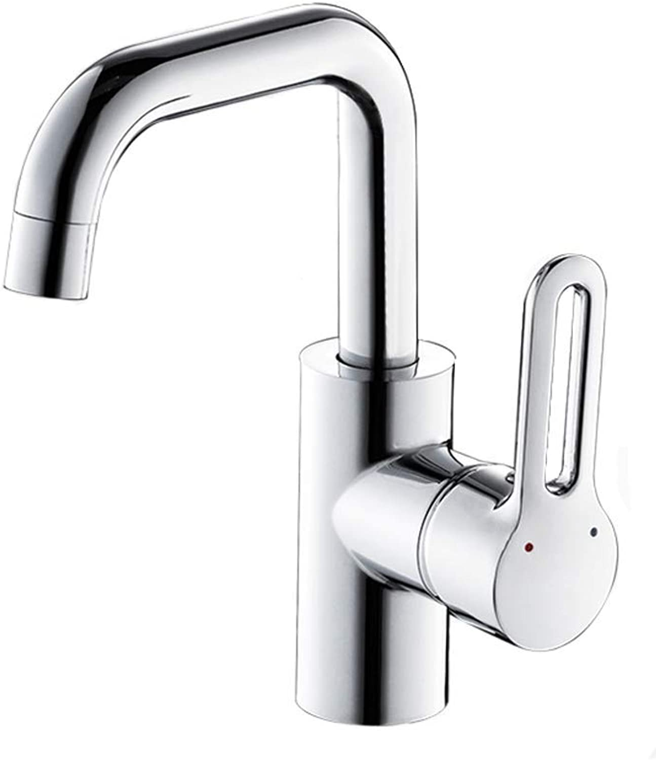 Tap Bathroom Taps, Basin Faucet Hot And Cold Faucet Washbasin Single Hole redatable Height Faucet