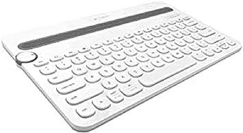 Logitech K480 - Teclado multidispositivo Bluetooth, Color Blanco