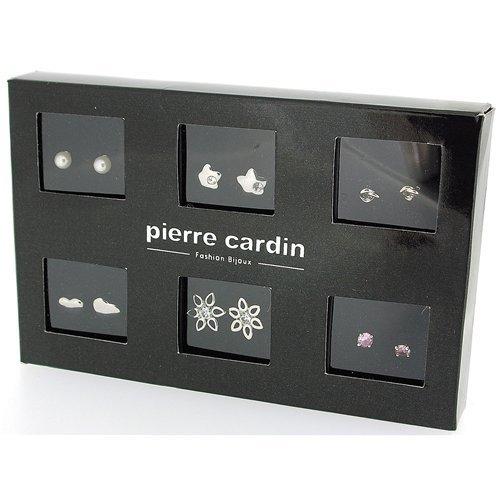 Pierre Cardin PXE61101S Women's Jewellery Set Necklace Bracelet Earrings Zirconia White