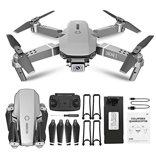 Baoer L701 Remote Control Drone Wide Angle 4K 720P 1080P HD Camera Quadcopter Foldable WiFi FPV Four-axis Altitude Hold VS E68 720P Color Box