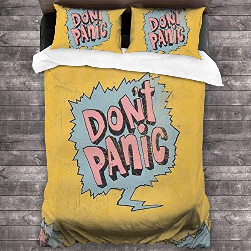 Juego de ropa de cama de 3 piezas de 2016 x 188 cm, cómodas sábanas de tamaño completo con 2 fundas de almohada cuadradas de agarre suave para adolescentes y hoteles.