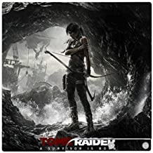 Tomb Raider Game Skin for Sony Playstation 3 Slim Console PS3