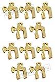 Chai Alive jüdische Hebräische Amulett-Anhänger, Judaica-Kabbala, 10 Stück