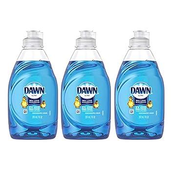 Value Pack of 3 Dawn Procter & Gamble 39713 Dish Soap Ultra Original 7-oz Each.