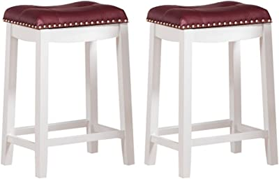 Wondrous Amazon Com Angel Line Cambridge Bar Stools 24 Set Of 2 Pdpeps Interior Chair Design Pdpepsorg