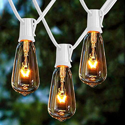 (50% OFF) Outdoor String Lights 20Ft W/ 20 Edison Bulbs $11.50 – Coupon Code
