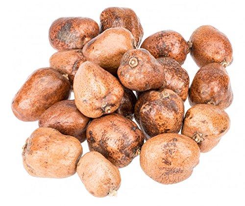 NaDeco Steinfrucht 1kg ca. 5-8cm Makalani Nuss Ideal zum schnitzen Sahel Apfel - ganz Naturdeko