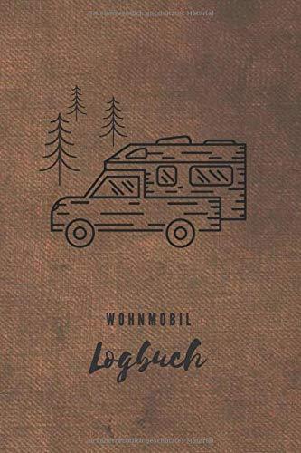Wohnmobil Logbuch: Reisebuch | Tourenbuch | Retro Look | Vintage | Geschenk für Camper