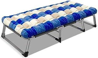 Produits ménagers Lit pliant Lit pliant à rangement facile Lit pliant avec matelas pour adultes Lits d'invités pliables Li...