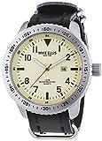 Mike Ellis New York 0 - Reloj de Cuarzo para Hombre, con Correa de 0, Color Negro