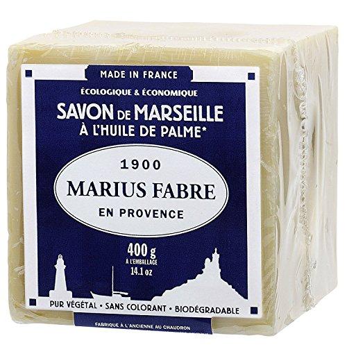 Marius Fabre 400B Savons Morceaux, incolore, Taille Unique