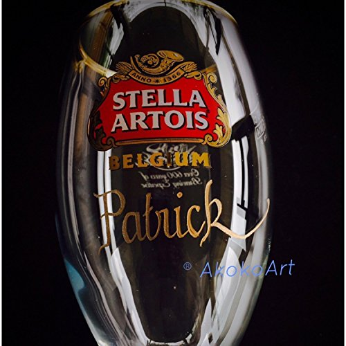 Stella Artois Chalice Engraving, STELLA CHALICE 40CL, chalice engraving, stella artois engraved, engraved beer glasses, Personalized Chalice Hand Engraved Free hand