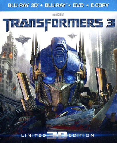Transformers 3(3D+2D+DVD) (limited edition) [Blu-ray] [IT Import]