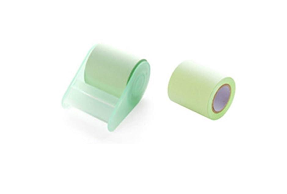 軽抵抗するプラカードFUYUFU 2つの粘着性のある付箋インデックスのブックマークはどのサイズにも引き裂かれます (グリーン)