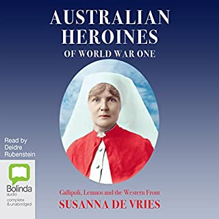 Australian Heroines of World War One cover art