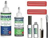 Volbit Secure Stitch Liquid Sewing Solution Kit Multi Fabric Liquid Glue Multi-Purpose Glue for Full Coverage Application