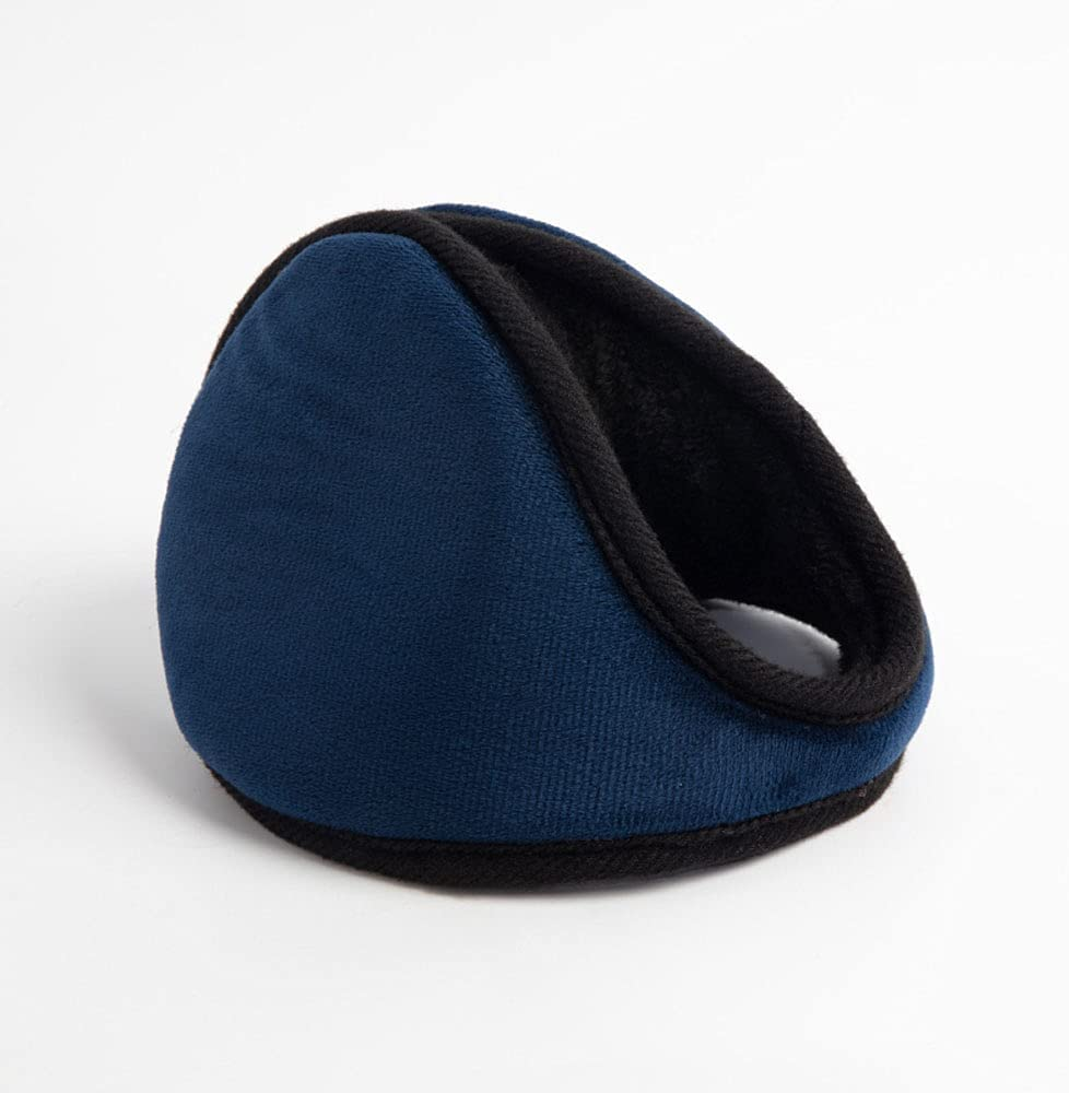 BAWQ Men's and Women's Earmuffs-Thick Winter Earmuffs-Earmuffs for Cold Weather Soft Earmuffs Blue, Brown, Gray, Black