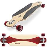 Streetsurfing Freeride 39 Longboard Mixte Adulte, Carve Red, 39 inches