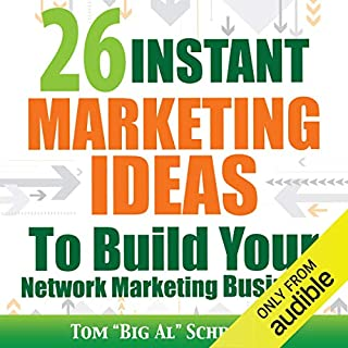 26 Instant Marketing Ideas to Build Your Network Marketing Business audiobook cover art