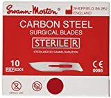 Swann-Morton ST10 Boîte de 100 Lames Stériles n°10