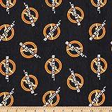 Camelot Fabrics 0673891 The Big Bang Theory Bazinga Flannel