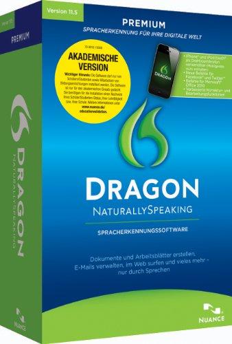 Dragon Naturally Speaking Premium Education inkl. Headset - Version 11.5