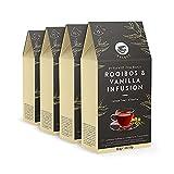 Marca Amazon - Happy Belly Select - Bolsitas de té de hierbas selecto con vainilla, 4x15 pirámides