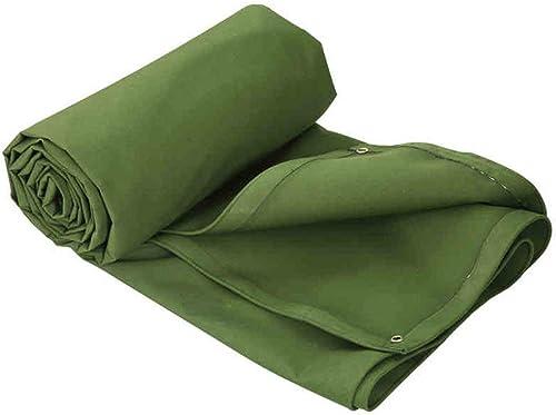 ATR Toile de Tente de bache de bache de bache résistante Verte, Bateau. Couverture de Piscine RV ou épaisse 6 Tailles imperméable pour extérieur