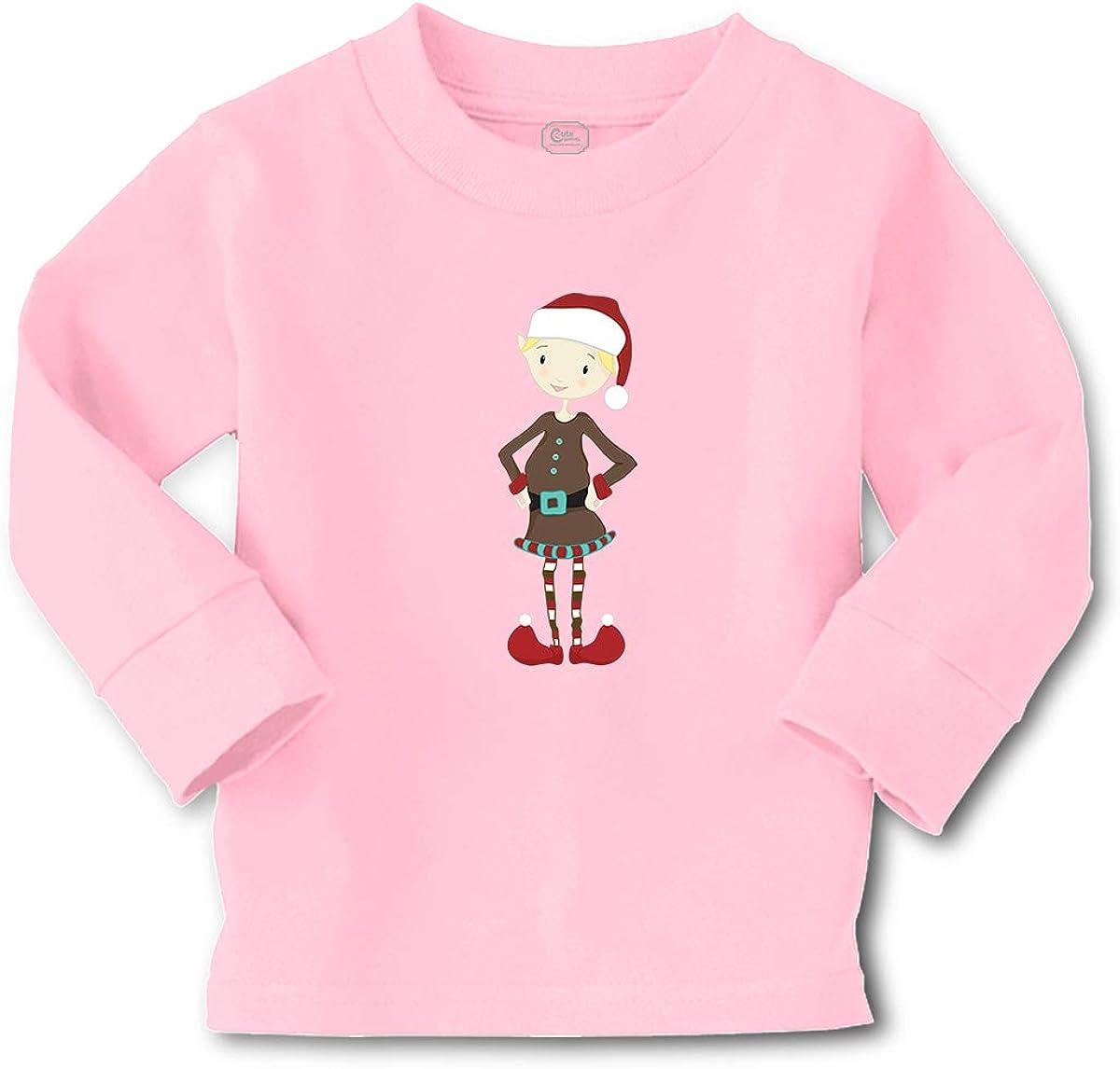 Cute Rascals Kids Long Sleeve T Shirt Elf Brown Coat Boy Cotton Boy & Girl Clothes