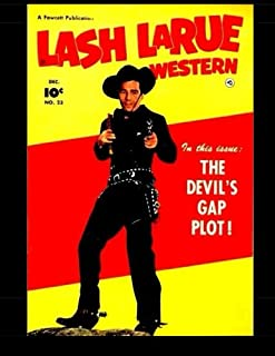 Lash Larue Western #23: Classic Western Comics from the 1950s
