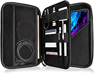 tomtoc Portfolio Case for 2020 iPad Pro 11-inch / 10.2 New iPad 2019/10.5 iPad Air / 10.5 iPad Pro, Organizer Bag Holders ...