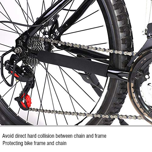 Alomejor Bike Frame Protector Bike Chain Guard Protector Sticker Frame Road Bicycle Protection Pad Cover for Mountain Bike Road Bike