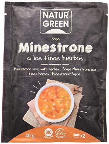 NaturGreen Sopa de Minestrone Finas Hierbas Bio 40g