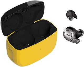 Kissmart for Jabra Elite Active 65t Charging Case, Replacement Charger Case Cradle Dock for Jabra Elite Active 65t / Elite 65t Earbuds (Build-in 500mah Battery)