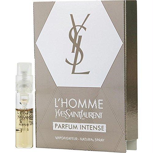 L'Homme Yves Saint Laurent 0.05 oz Parfum Intense Vial Spray (0.05 Ounce Parfum)