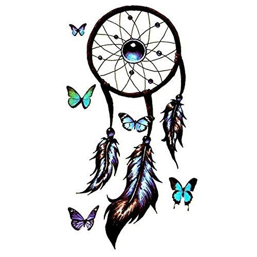EROSPA® Tattoo-Bogen temporär/Sticker - Traumfänger - Wasserfest