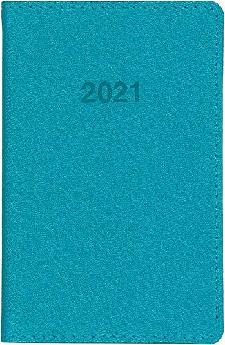 博文館手帳2021年ミニ手帳ターコイズNo.777(2021年1月始まり)