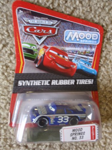 Disney / Pixar CARS Movie Exclusive 1:55 Die Cast Car with Sythentic Rubber Tires Mood Springs