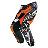 Pantaloni Motocross Oneal 2016 Element Shocker Nero-Arancio (30 Vita = Eu 44 , Nero)