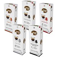 100 Nespresso Cápsulas de Café Compatibles, Espresso Italia (1. Variedad)
