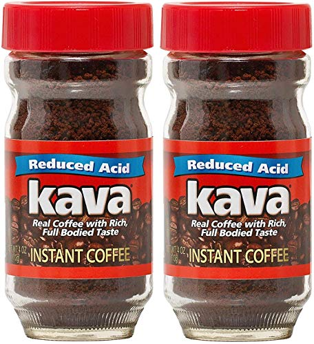 Kava Acid Neutralized Instant Coffee, 4 Ounce (Pack of 2)
