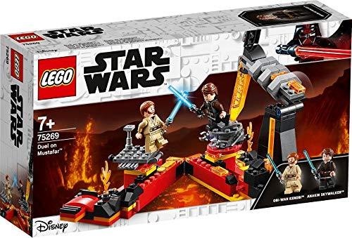 wow Lego Star Wars Duell en Mustafar, a partir de 7 años